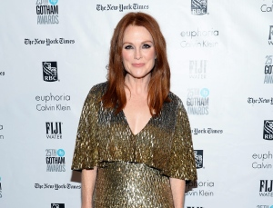 In this Nov. 30, 2015, file photo, actress Julianne Moore attends The Independent Filmmaker Project's 25th Annual Gotham Independent Film Awards in New York.(Photo by Evan Agostini/Invision/AP, File)