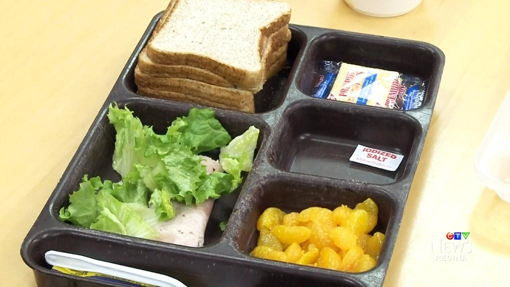 CTV Regina: Reporter samples jail food