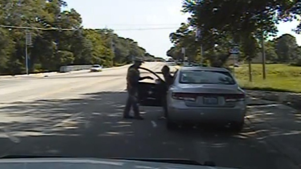 Texas State Trooper Brian Encinia and Sandra Bland