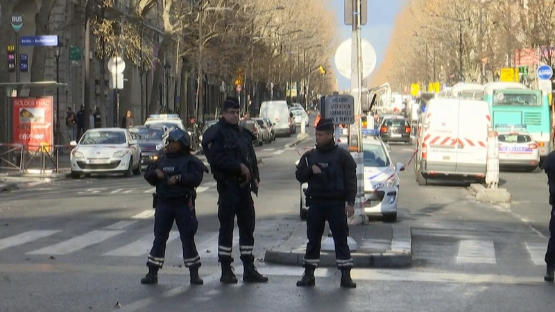 Five arrested after explosives found in chic Paris neighbourhood