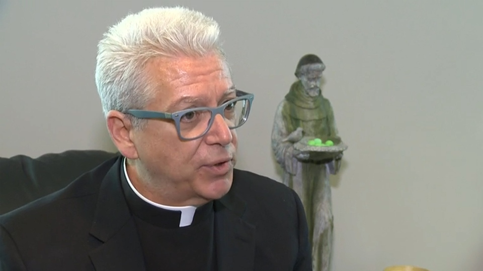 Pastor Fr. Phil Daley speaks to CTV Winnipeg.