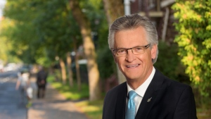 Former Montreal North borough mayor Gilles Deguire, seen here in a campaign photo.