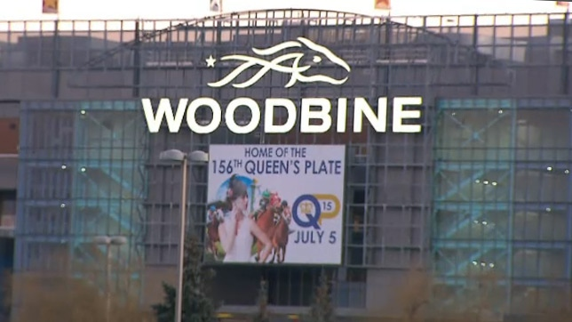 Woodbine Racetrack is seen Tuesday, Jan. 5, 2016.
