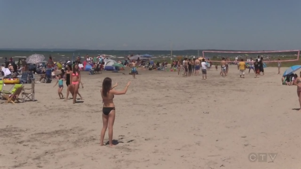 Two men drowned at Wasaga Beach on Saturday