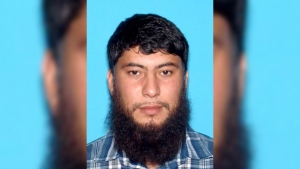 This undated image provided by the Idaho State Police shows Fazliddin Kurbanov. (AP Photo/Idaho State Police)