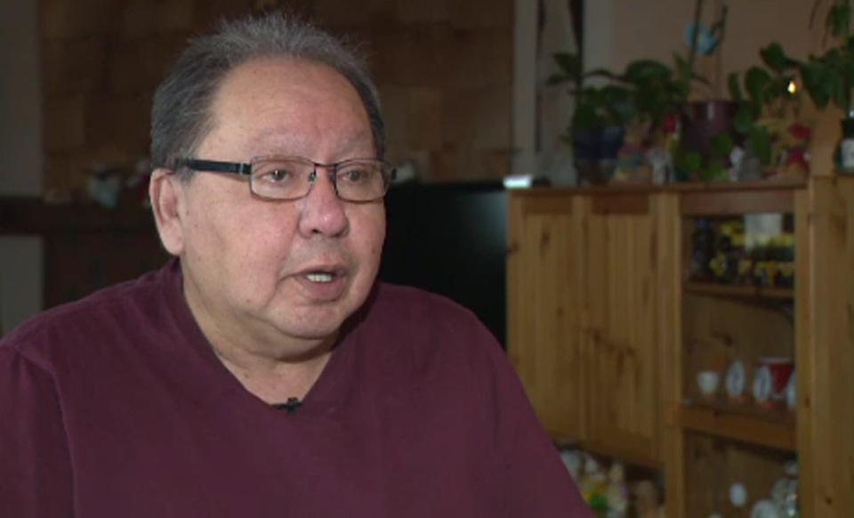 In Edmonton, Ray Belmore was laid off from his job with a trucking company.
