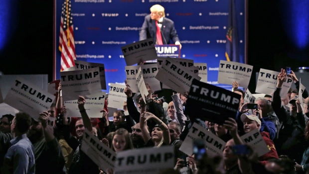 Donald Trump hosts rally in Vermont