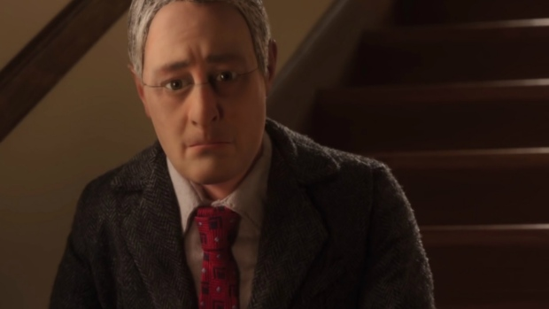 The character of Michael Stone, voiced by David Thewlis, is seen in 'Anomalisa.'