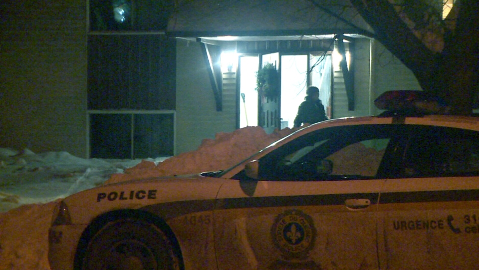 An infant was severely burned after being placed on a stove in Victoriaville, Que.
