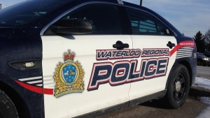 A Waterloo Regional Police cruiser is shown in Cambridge on Wednesday, Jan. 6, 2016. (Matt Harris / CTV Kitchener)