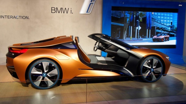 The BMW i Vision Future Interaction concept