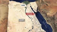 Two tourists stabbed at Egyptian resort