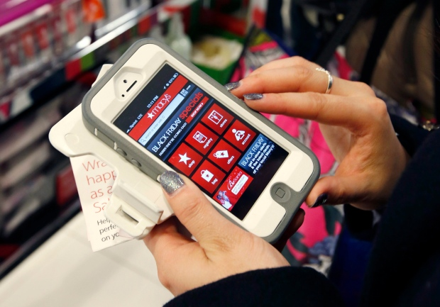 Shopping with a smartphone