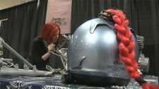 Stampede Park, motorcycle, The Motorcycle Show, BM