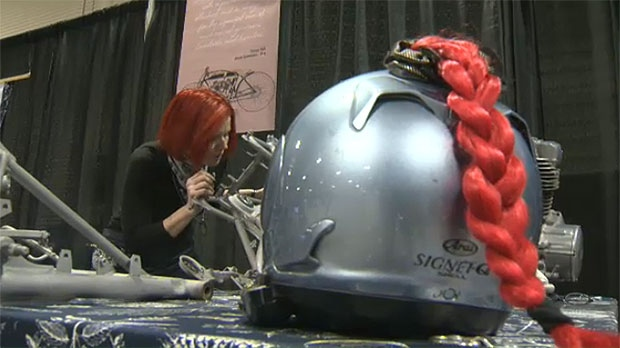 Torch Motorcycle's mission is to build bikes, components and apparel for women riders.