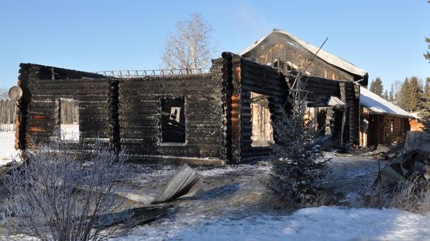 Sundre area arson