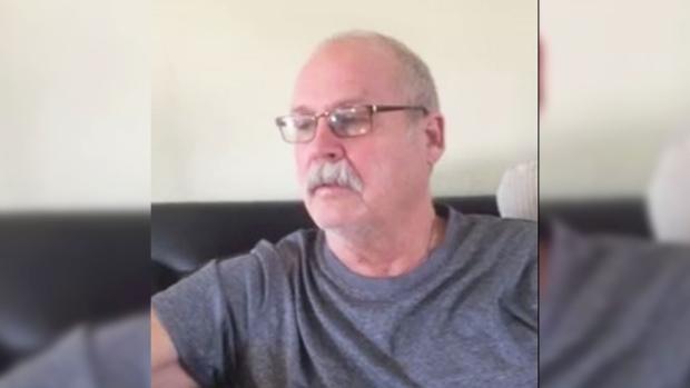 Alan Beamer, who has Alzheimer's