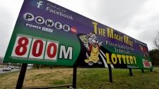 Powerball lottery hits $800 million
