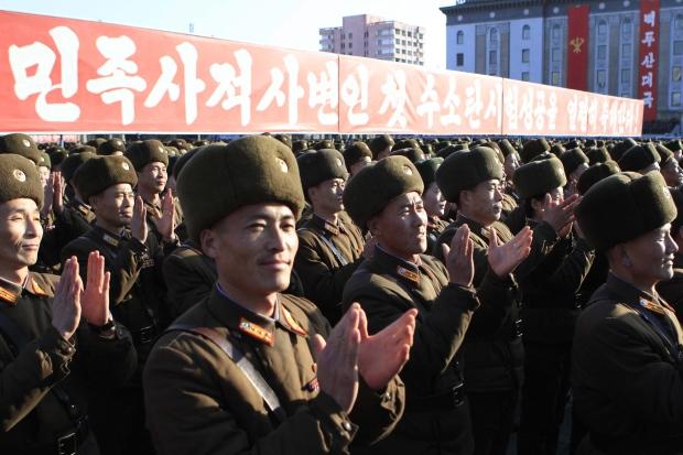 North Korean military personnel