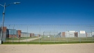 Fencing lines part the Regina Correctional Centre on Monday Aug. 25, 2008. (THE CANADIAN PRESS/Troy Fleece)