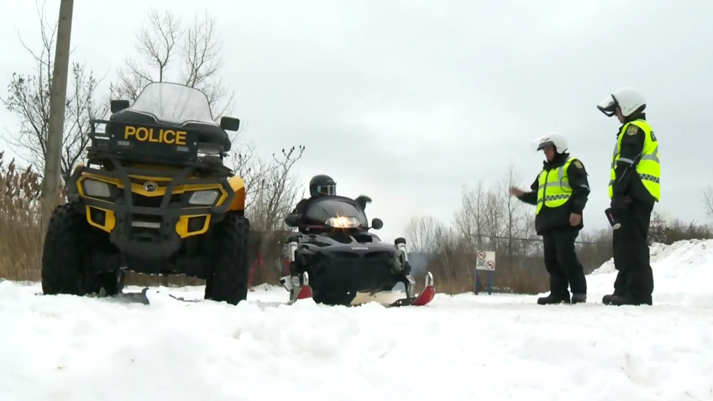 Snowmobile awareness campaign kicks off across Quebec