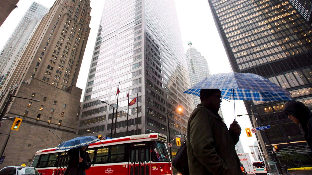 Toronto Weather: City wakes up to heavy rain and thunderstorms