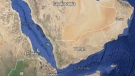 In this Google map, Yemen is pictured.