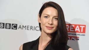 Caitriona Balfe arrives at the BAFTA Awards Season Tea Party at the Four Seasons on Saturday, Jan. 9, 2016, in Los Angeles. (Photo by Jordan Strauss/Invision/AP)
