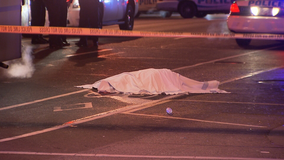 A 23-year-old woman was killed on Jan. 9, 2016 after falling from a party bus in downtown Vancouver. (CTV News).