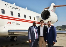 Justin Trudeau in St. Kitts