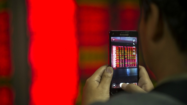 Markets fall on uncertainty over China
