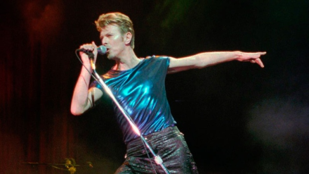 David Bowie performs in Hartford, Conn.