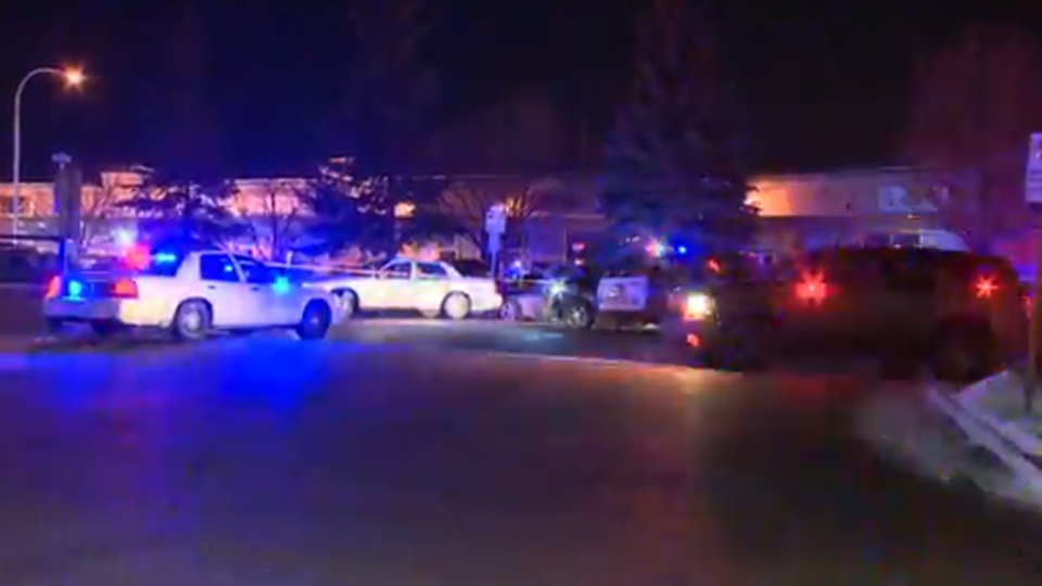 Calgary police are searching for a third suspect after shots were fired at the Ten X Nightclub.