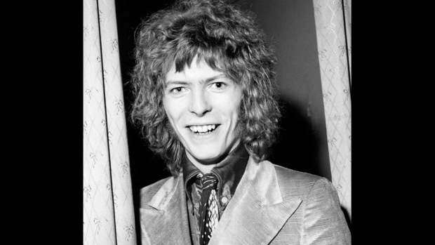 A Feb. 13, 1970 file photo of David Bowie.