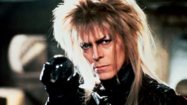 David Bowie in the 1986 movie, Labyrinth