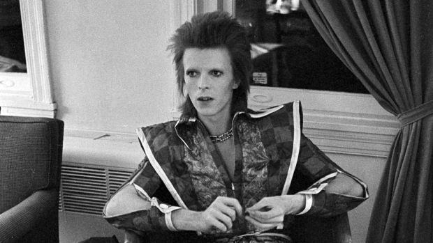David Bowie in his Ziggy Stardust period