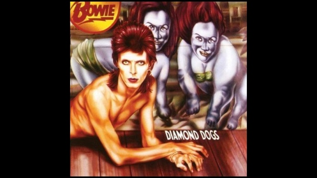 David Bowie's1974 album Diamond Dogs
