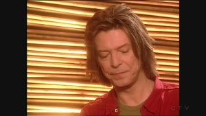 David Bowie in Montreal in 1999