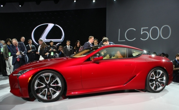 Lexus LC 500 sports coupe