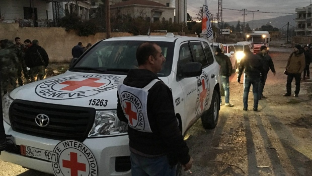 Aid arrives in Madaya