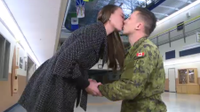 soldier proposes