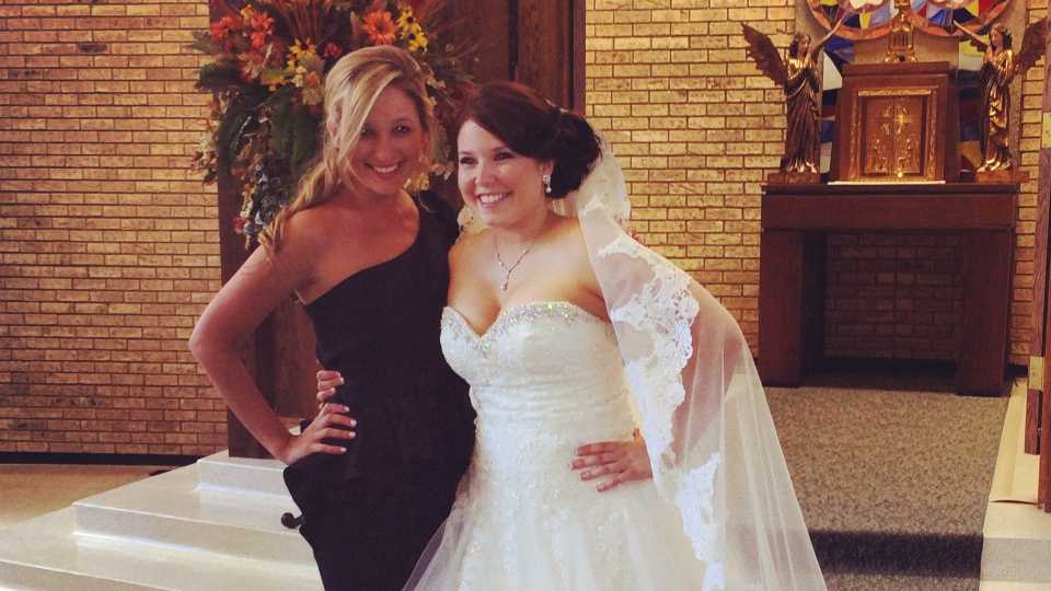 After launching her business as a professional bridesmaid, Jen Glantz says she's worked with more than 40 brides. (www.bridesmaidforhire.com)