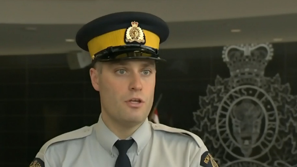 Nova Scotia RCMP Const. Mark Skinner speaks to CTV Atlantic.