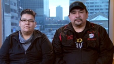 CTV News Channel: First Nations family displaced