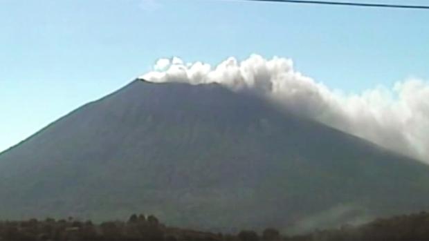 El Salvador's Chaparrastique volcano