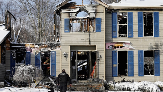 Deadly house explosion in Ohio