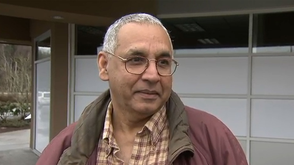 Conda Reddy speaks to CTV Vancouver about having his B.C. lottery tickets taken away at the U.S.-Canada border.
