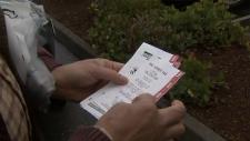 B.C. lottery tickets