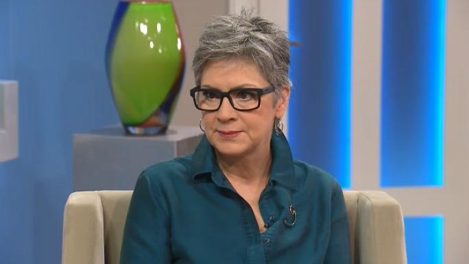 Rev. Gretta Vosper appears on CTV's Canada AM on Wednesday, Jan. 13, 2016.