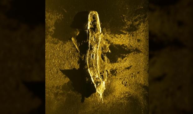 Shipwreck off Australia